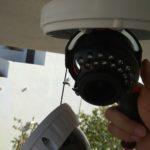 câmera dome rotativa